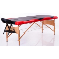 Folding massage table RESTPRO CLASSIC-2 BLACK & RED