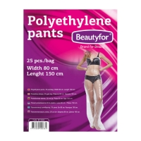 Kertakäyttöiset housut, 25 kpl polyeteeni