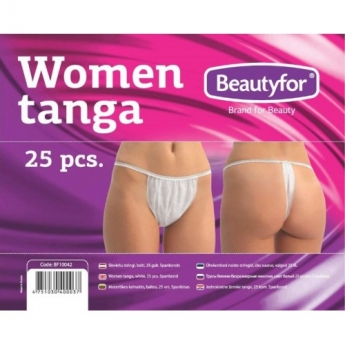 Naisten bikinihousut, 25 kpl.